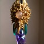 シーギリヤ遺跡で発掘された豪華なイヤリング