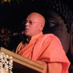 マハボディの代表;Banagala Upatissa Thero